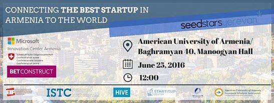Seedstars Yerevan 2016